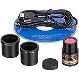 AmScope md500-ck 5.0MP USB todavía Generador de imágenes y video en vivo microscopio cámara Digital + Kit de calibración