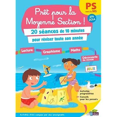 Cahier De Vacances Pret Pour La Moyenne Section Pdf