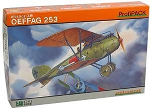 Eduard Plastic Kits 8242 Albatros D. III OFAG 253 ProfiPack - Avioneta a Escala Importado de Alemania