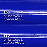 Oracal 751c - 150 Brilliant Blau - Klebefolie Set - 5m x 63cm - Folie - Moebelfolie - Plotterfolie - Selbstklebend - gegossen - cast