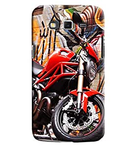 Clarks Printed Designer Back Cover For Samsung Galaxy Grand 2