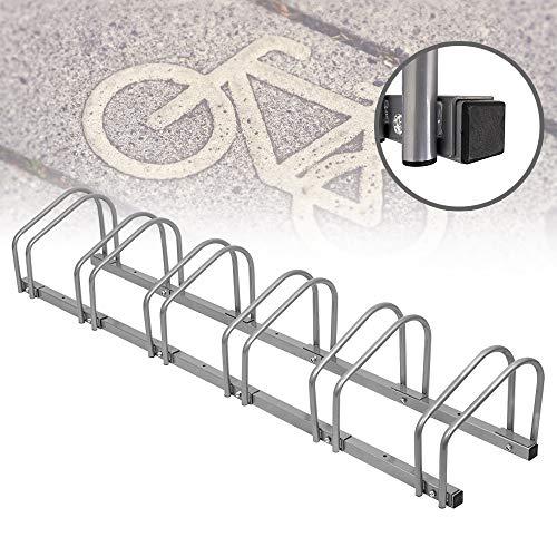 FROADP Galvanizado Soporte para Bicicletas Estacionamiento en Suelo o Pared para Escuela Jardín Cobertizo...