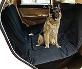 Hunde Autoschondecke:Haustier Autositzschutz für Schalensitz mit Sitzverankerung Bonus Sicherheitsgurt Halteeinrichtung für Autos, Trucks, SUV'S und Fahrzeuge Kratzfest, Wasserbeständig ideal für den Transport von Tieren