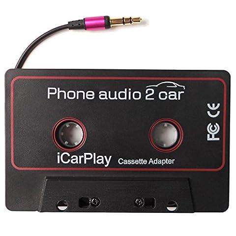Cassette Jack - DigitNow! Adaptateur de cassette