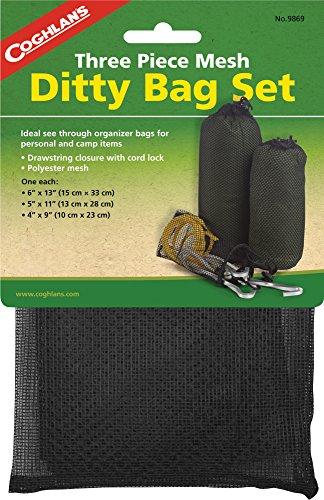 Coghlans Mesh Ditty Bag Set, Herren, Mesh Ditty Bag Set, schwarz, Nicht zutreffend -