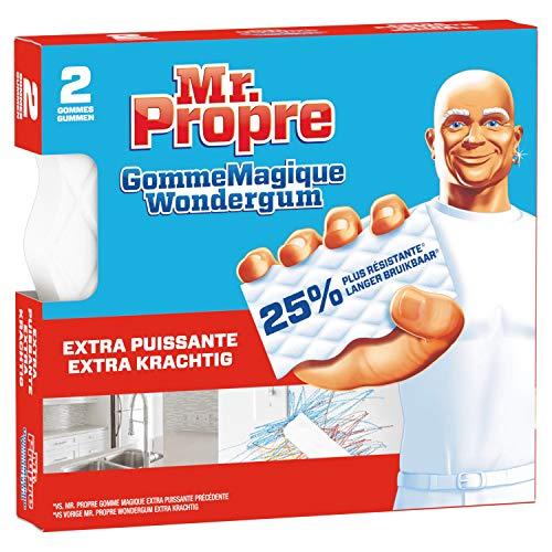 Mr. Propre Gomme Magique Extra Puissant Nettoie Comme Par Magie 2 Unités