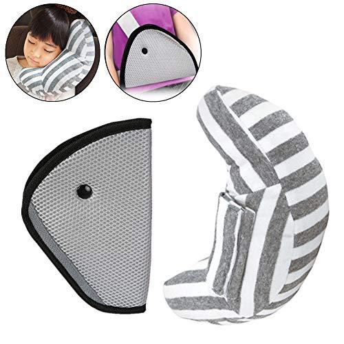 ZYCC Gurtpolster Auto Gurtschutz für Baby Kinder Kopf Support ner plus Sicherheit Abdeckung Schulterkissen im Auto