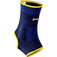 Dunlop Profi Fußgelenkschutz | Fussgelenk Bandage | waschbar | Kompressionsgestrick| für Männer und Frauen – ideal... preisvergleich bei billige-tabletten.eu