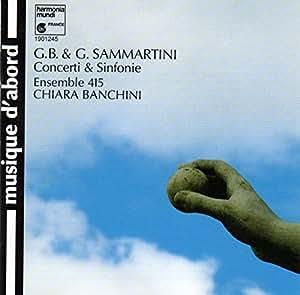 Sammartini : Concerti & Sinfonie