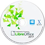 LibreOffice 2017 Professional, Business, Home & Student - Word & Excel Compatible Software for PC Microsoft Windows 10 8.1 8 7 Vista XP 32 64 Bit, Mac OS X & Linux - Full Program with Free Updates!