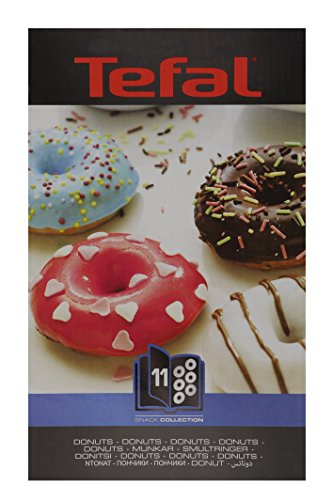 51FLV401wgL - Tefal XA801112 Snack Collection Donut Maker Non Stick Plates Set (Accessory)
