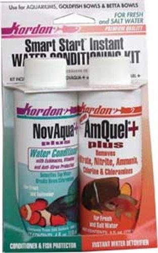KORDON #31314 Novaqua /Amquel Kit Water Conditioners for Aquarium, 4-Ounce by Kordon