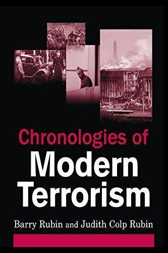 Chronologies of Modern Terrorism (English Edition) par Barry Rubin