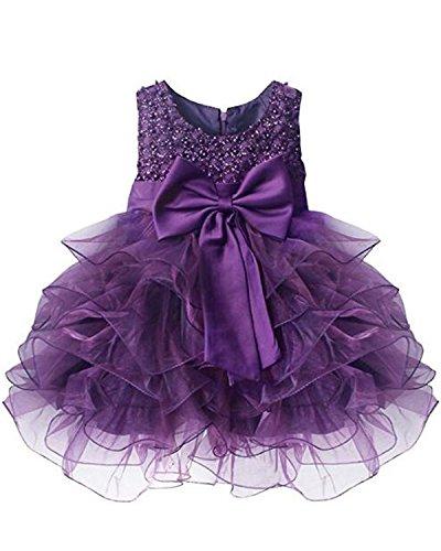 Kidsform Baby Mädchen Prinzessin Kleid Taufkleid Festlich Kleid Hochzeit Partykleid Festzug...