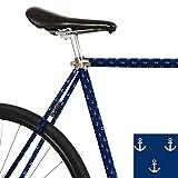 MOOXI-BIKE Fahrrad-Folie Anker (ausreichend für Teilbereiche)