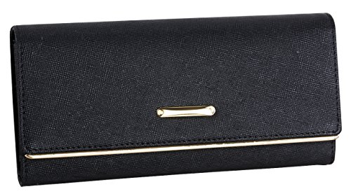 lh-saierlongr-womens-trifold-wallet-black-fashion-soft-leather-wallets