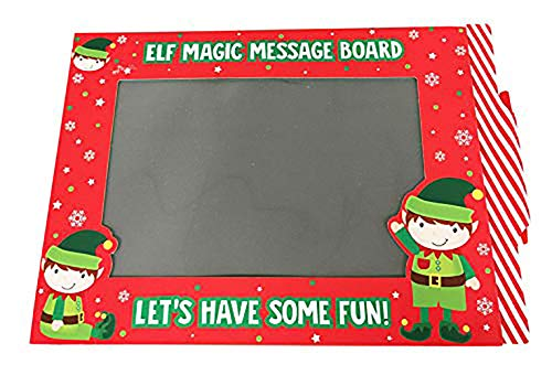 Neon Candy Magic Message Board Elf On Shelf Slate Kids Activity Art Craft+Free Pencil