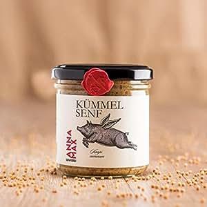 AnnaMax - Kümmelsenf - 150 g - Gourmetsenf aus Österreich Exklusivvertrieb Greenplan Products