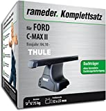 Rameder Komplettsatz, Dachträger SquareBar für FORD C-MAX II (116114-08995-1)