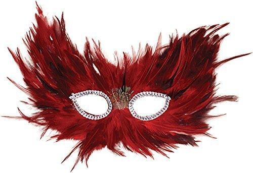 Red & Black Feather (Dress Fancy Kostüme Red Ideen)