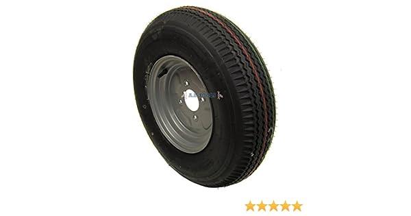 """Roue et pneu de remorque 5,00 x 10/"""" 4ply 4/""""pcd TRSP11"""