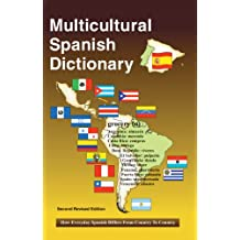 Multicultural Spanish Dictionary (English Edition)