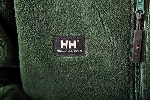 Helly Hansen 72262 Veste de travail en polaire effet fourrure Réversible Vert