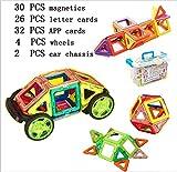 Baby Pig Kleinkind Spielzeug Magnetische Bausteine Set, 94 Stück Standard Set Kreativität Pädagogische Spielzeug für Geburtstag Kindertag Geschenk (94-Stück)