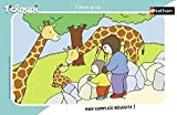 OTTO Puzzle avec Cadre t'choupi et Son Papa au Zoo - 15 Pieces - Enfant - Dessin...