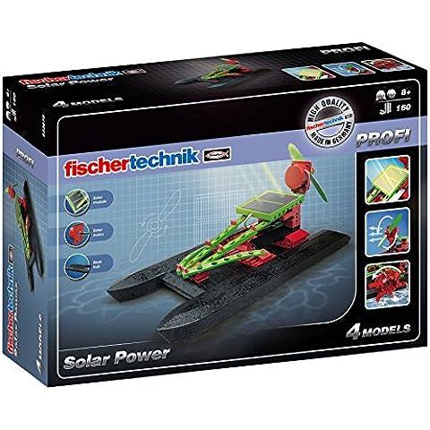 Fischertechnik Solar Power - Kit de construcción 4 modelos, 160 piezas (533875)