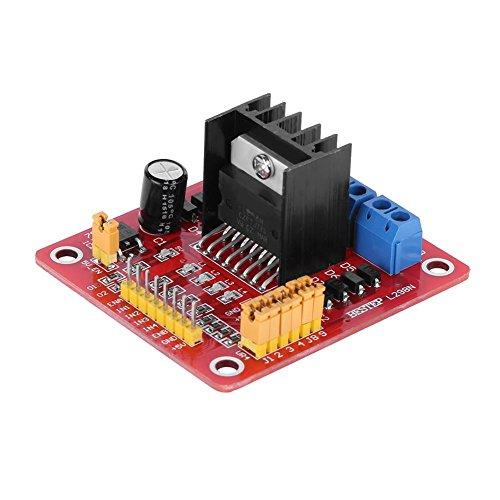 asiproper Dual H-Bridge Stepper Motor L298N Drive Controller Board Modul für Arduino