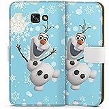 Samsung Galaxy A5 (2017) Tasche Hülle Flip Case Disney Frozen Olaf Geschenk Fanartikel