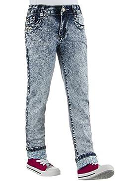 Kinder Jeans, MÄDCHEN STONE WASH JEANS, KL-K-A667