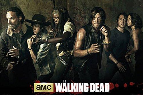 empireposter - Walking Dead, The - Season 5  - Größe (cm), ca. 91,5x61 - Poster, NEU -