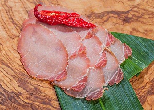 Lachsschinken hausgemacht - 400 g geschnitten