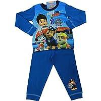 Nickelodeon Paw Patrol Boys Pyjamas PJs Bundle - Jammies with a Pup-Tastic Character Snuggle Blanket