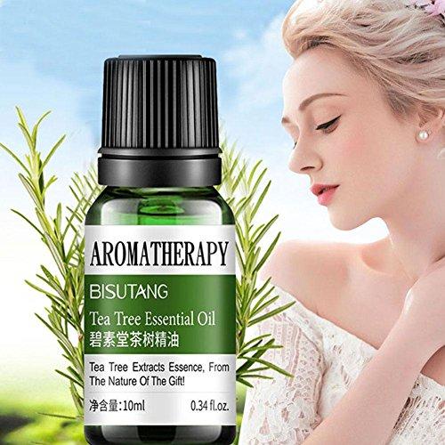 Pore Minimierung Teebaum ätherisches Öl Aromatherapie Öl beruhigende feuchtigkeitsspendende (Kühlen Fußbad)