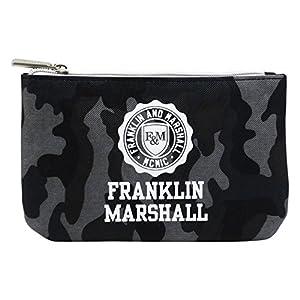 Franklin Marshall Make Up Bag con El Power Bank Bolsos Neceser Vanity Pochettes Negro