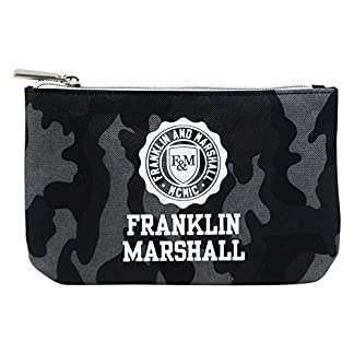 Franklin Marshall Make Up Bag Con El Power Bank Bolsos Neceser Vanity Pochettes Negro