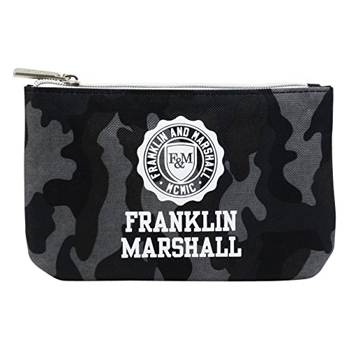 Franklin Marshall Feder Tasche Mit Power Bank Kosmetik Make-up Bag Aufbewahrungtasche Schwarz (Gucci Taschen Kosmetik)