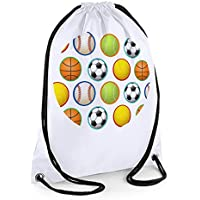 Boys Swim Bag, Boys Gym Bag, PE Bag, Sportsballs Bag
