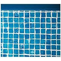 Gre FPR457 - Liner mosaicato 50/100 per piscina tonda Ø 460 h 132
