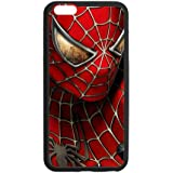 Phone Protector Daurable Custom Rubber Spider Man Cover Case for iPhone 6splus/6plus 5.5inch Coque Cas iPhone6/6s plus P6p579