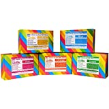Sattvic Natural Holi Colours (Party Pack of 5) - 5 Kg