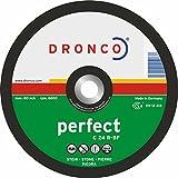 Dronco 1237015230x 3x 22,2mm gekröpft Stein Trennscheiben (25Stück)
