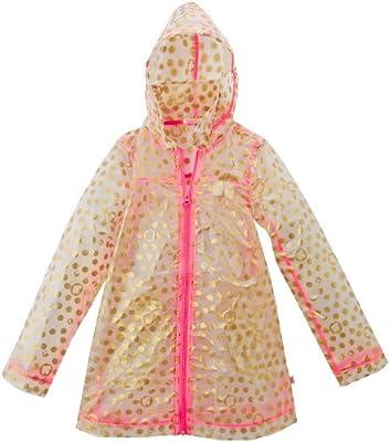 Billieblush - Abrigo impermeable para niña