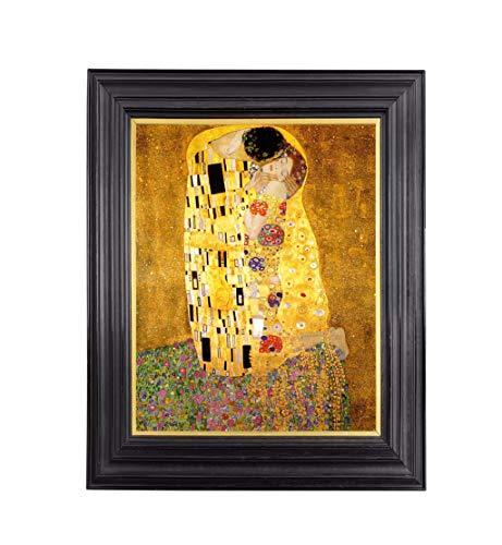 Gustav Klimt The Kiss Premium Kunstdruck, Kunstdruck, Reproduktion, 43 x 54,6 cm Kunstdruck mit Archivtinte und professionellem Papier. - Lb Papier 60