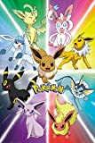 GB Eye, Pokemon, Eevee Evolution, Maxi Poster