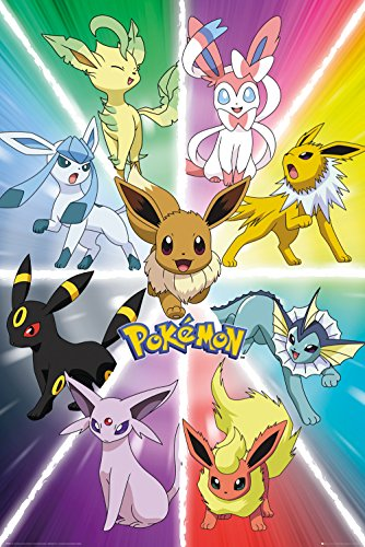 GB-Eye-Pokemon-Eevee-Evolution-Maxi-Poster