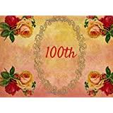 100th: Guest Book | Events | Celebration | 100th Birthday and Anniversary Gift | Message  Book |Keepsake | Memorabilia for Friends & Family to write ... and Parties, 70 Formatted Pages, 8.25x6in